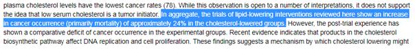 étude 12 cholesterol